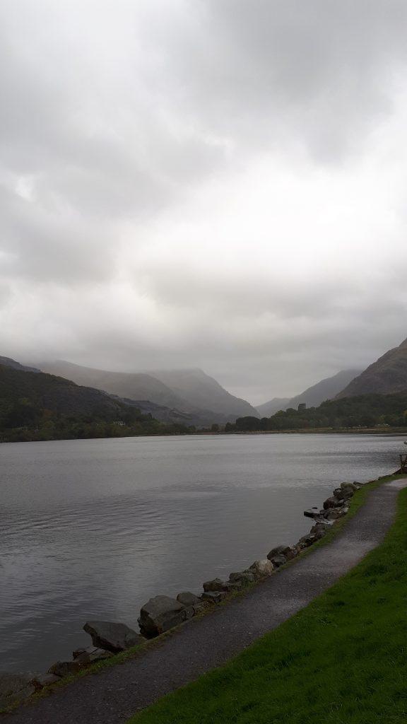 Jezioro w Llanberis