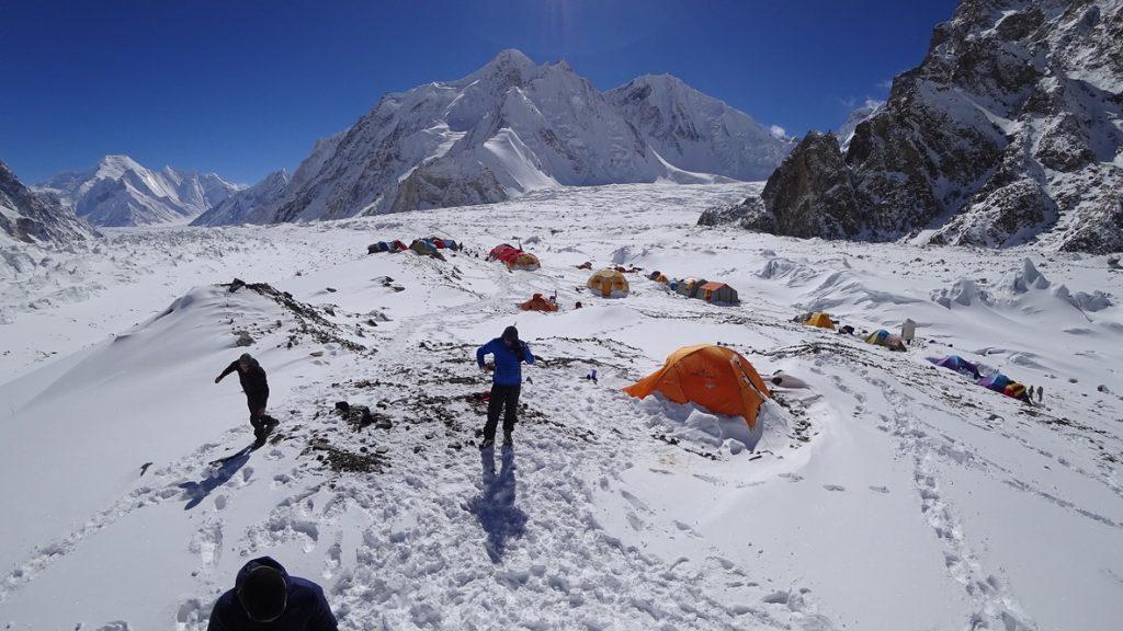 zimowa wyprawa na K2 - baza