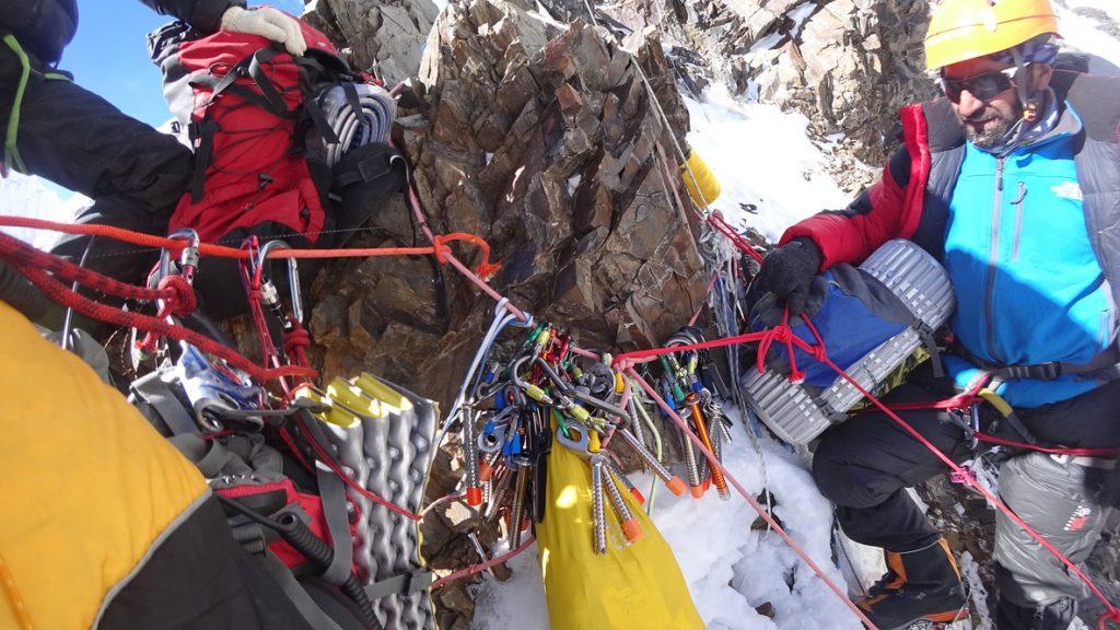zimowa wyprawa na K2 - wspinanie