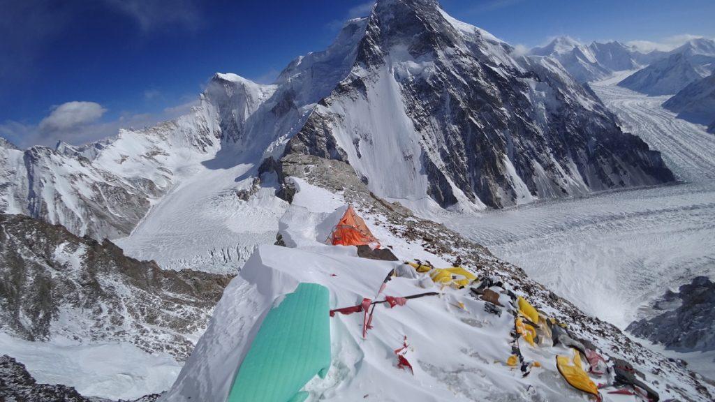 zimowa wyprawa na K2 - obóz