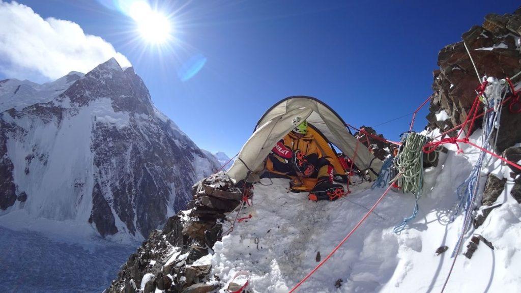 zimowa wyprawa na K2 - oboz 2