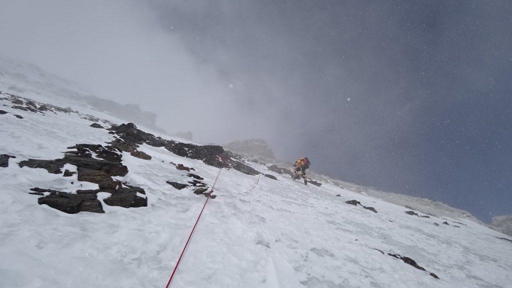 zimowa wyprawa na K2 - wspinanie 2