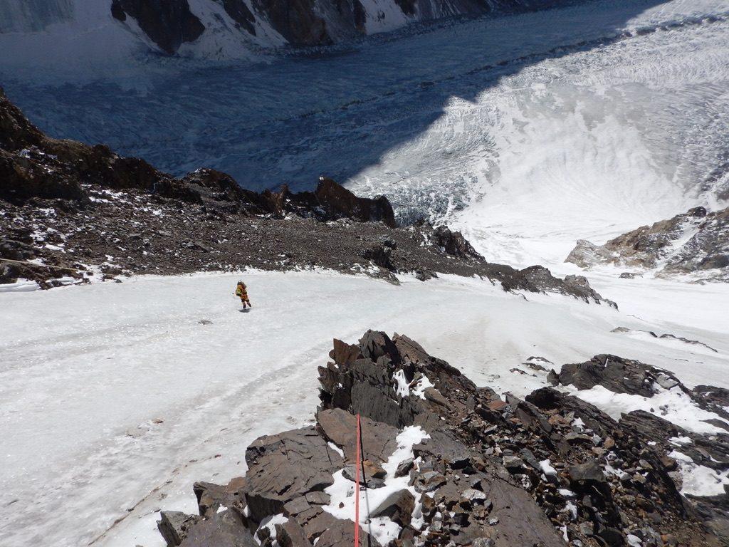 zimowa wyprawa na K2 - wspinanie 3