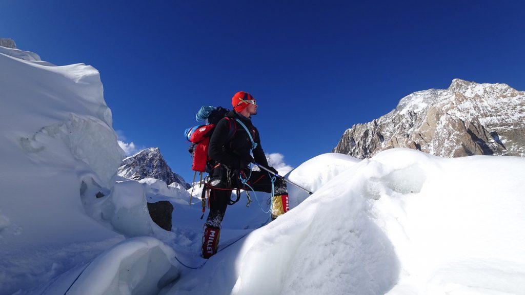 zimowa wyprawa na K2 - Artur Małek 1