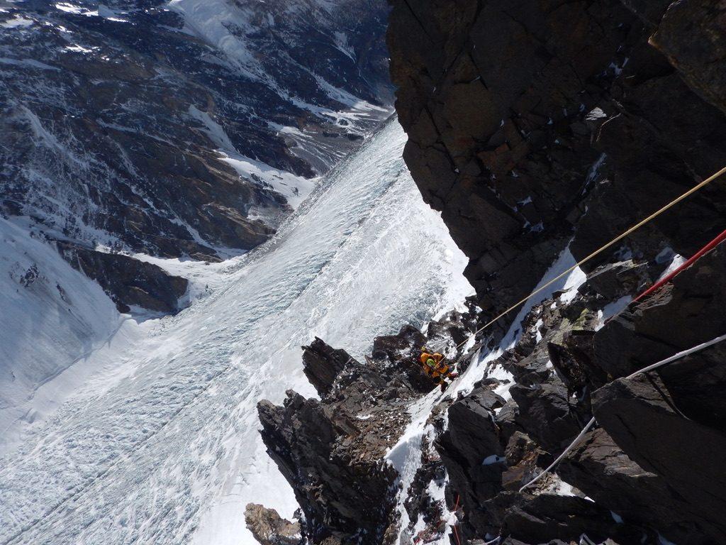 zimowa wyprawa na K2 - wspinanie 4