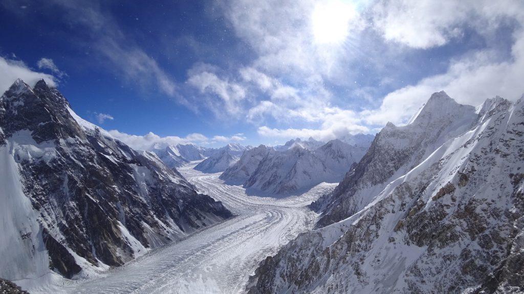 zimowa wyprawa na K2 - wspinanie 5