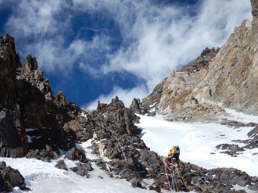 zimowa wyprawa na K2 - wspinanie 6