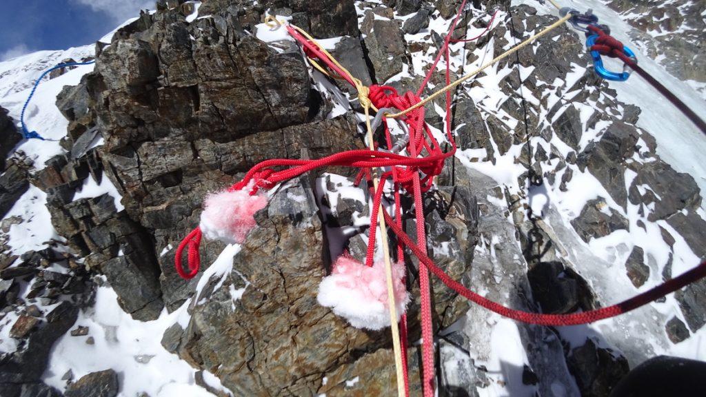 zimowa wyprawa na K2 - wspinanie 7