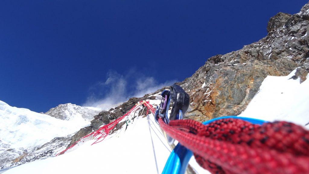 zimowa wyprawa na K2 - wspinanie 8