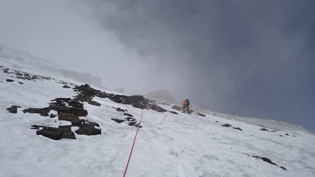 zimowa wyprawa na K2 - wspinanie 9