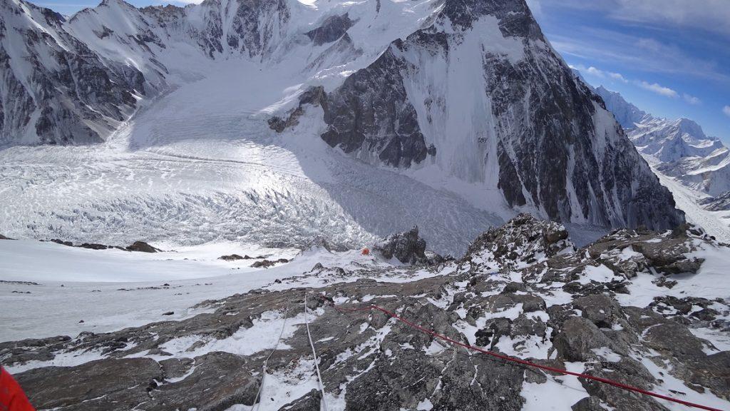 zimowa wyprawa na K2 - wspinanie 10