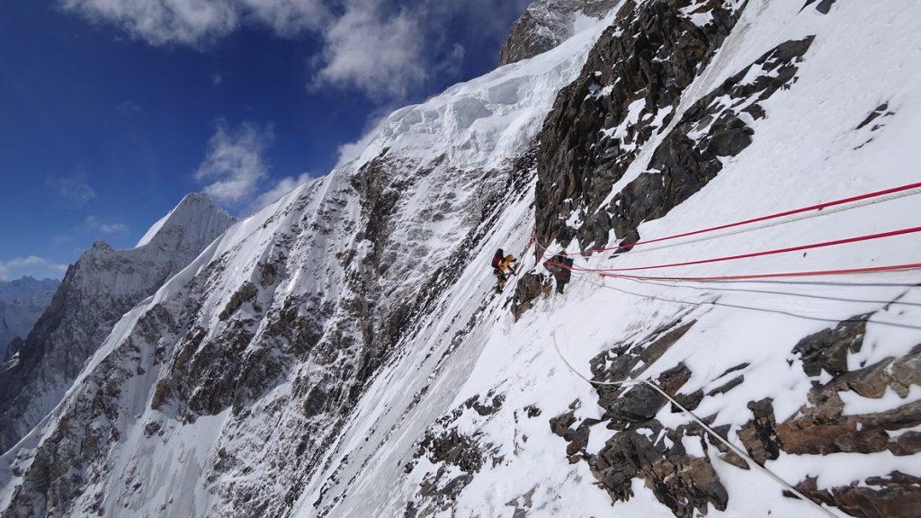 zimowa wyprawa na K2 - wspinanie 11