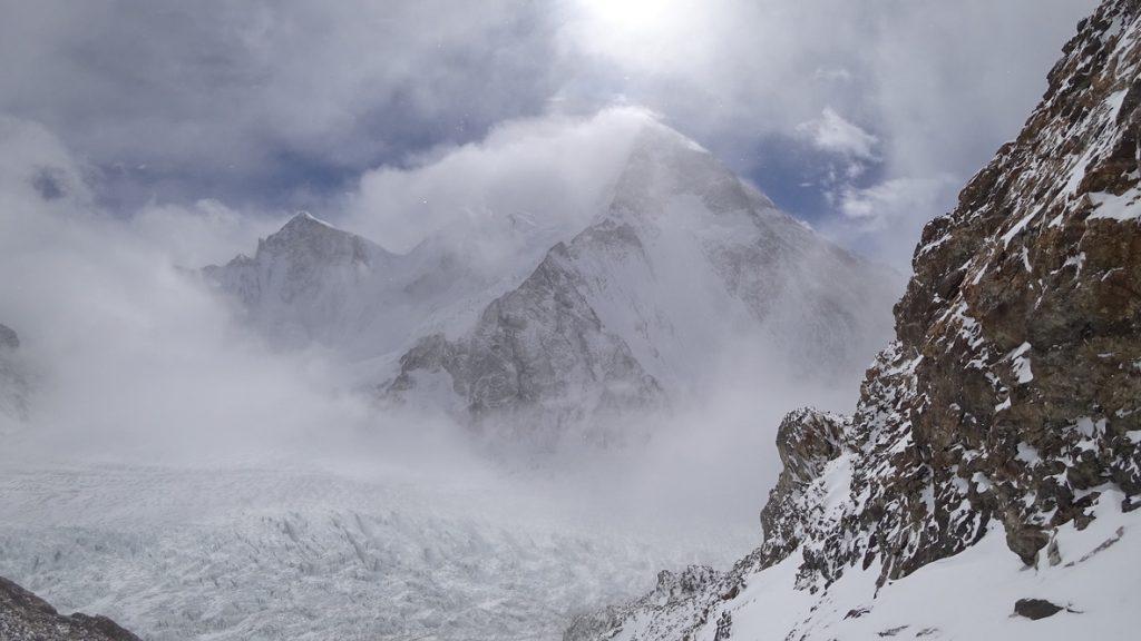 zimowa wyprawa na K2 - wspinanie 13