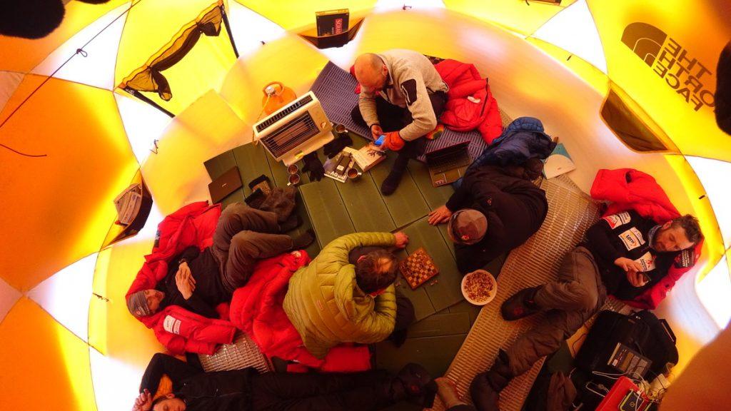 zimowa wyprawa na K2 - baza 3