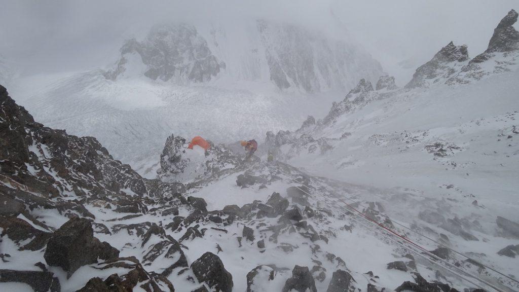 zimowa wyprawa na K2 - wspinanie 15