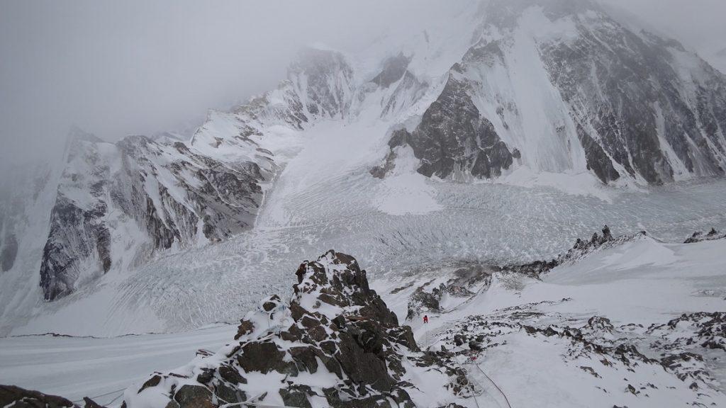 zimowa wyprawa na K2 - wspinanie 16