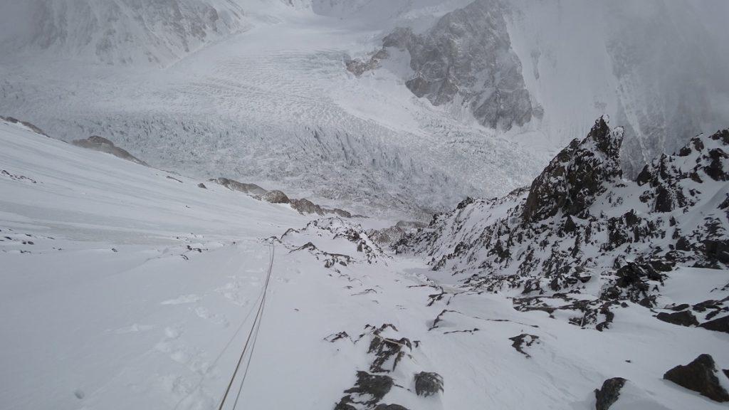 zimowa wyprawa na K2 - wspinanie 17