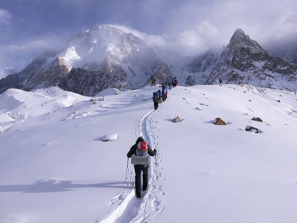 zimowa wyprawa na K2 - trekking 4
