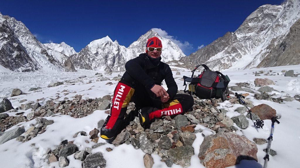 zimowa wyprawa na K2 - Artur Małek 2