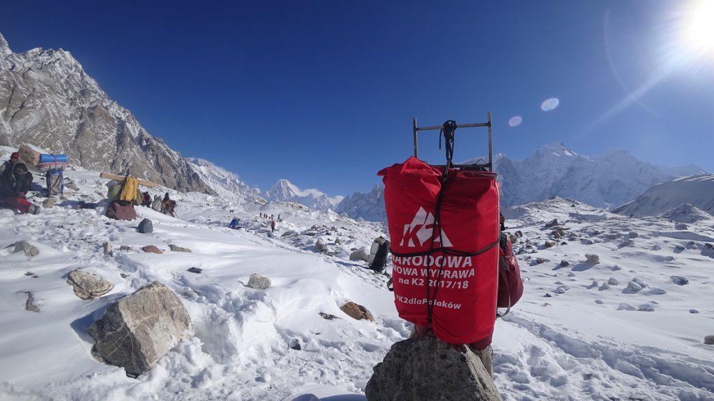 zimowa wyprawa na K2 - trekking 6