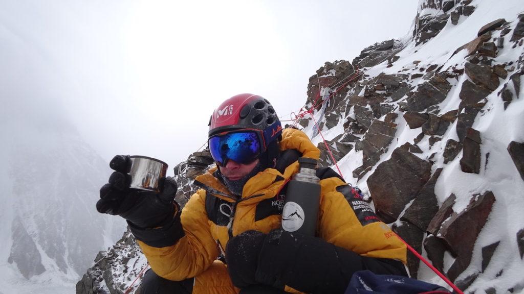 Termos Termite podczas wyprawy na K2 (fot. Marek Chmielarski)