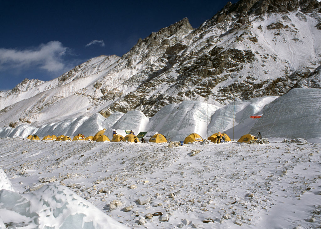 Baza wyprawy Netia K2
