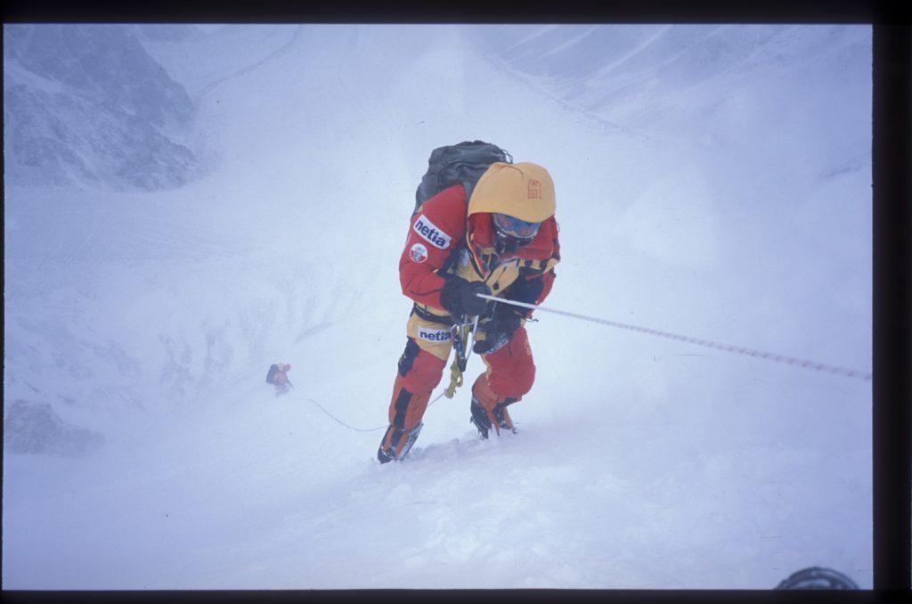 Trudne warunki atmosferyczne podczas wyprawy Netia K2