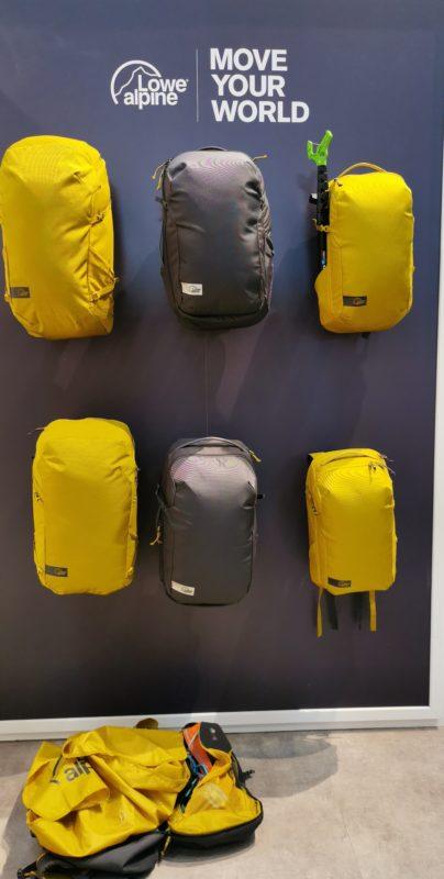 Linia plecaków wspinaczkowych Lowe Alpine (fot. Maciek Smolnik)