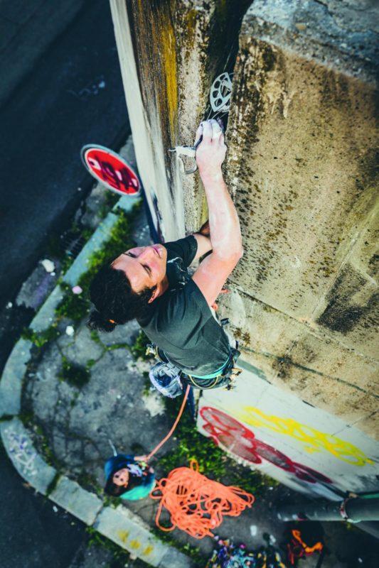 Urban Climbing czy też wspinanie na własnej asekuracji? (fot. rockslave)