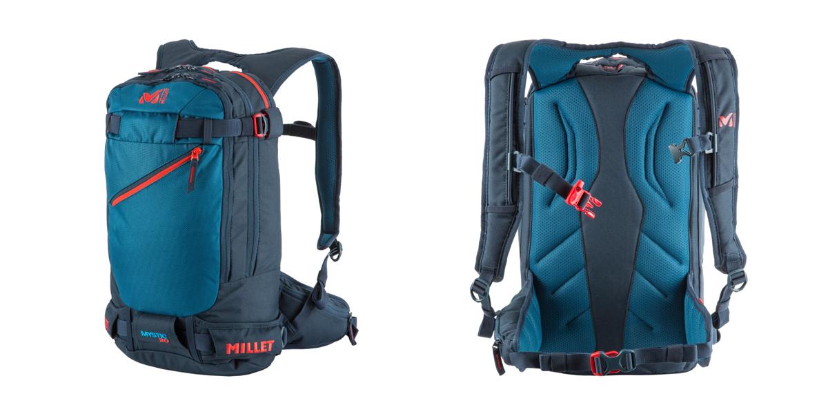 Plecak skitourowy Millet Mystic 25 w kolorze cosmic blue – orion blue (fot. millet.fr)