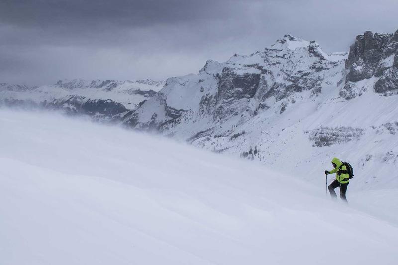 Zimą trzeba być gotowym na każde warunki (fot. millet.fr)
