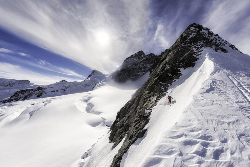 Freeride w Alpach (fot. millet.fr)