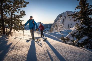 Jak wybrać kije na skitoury (fot. Andy Earl / blackdiamond.com)