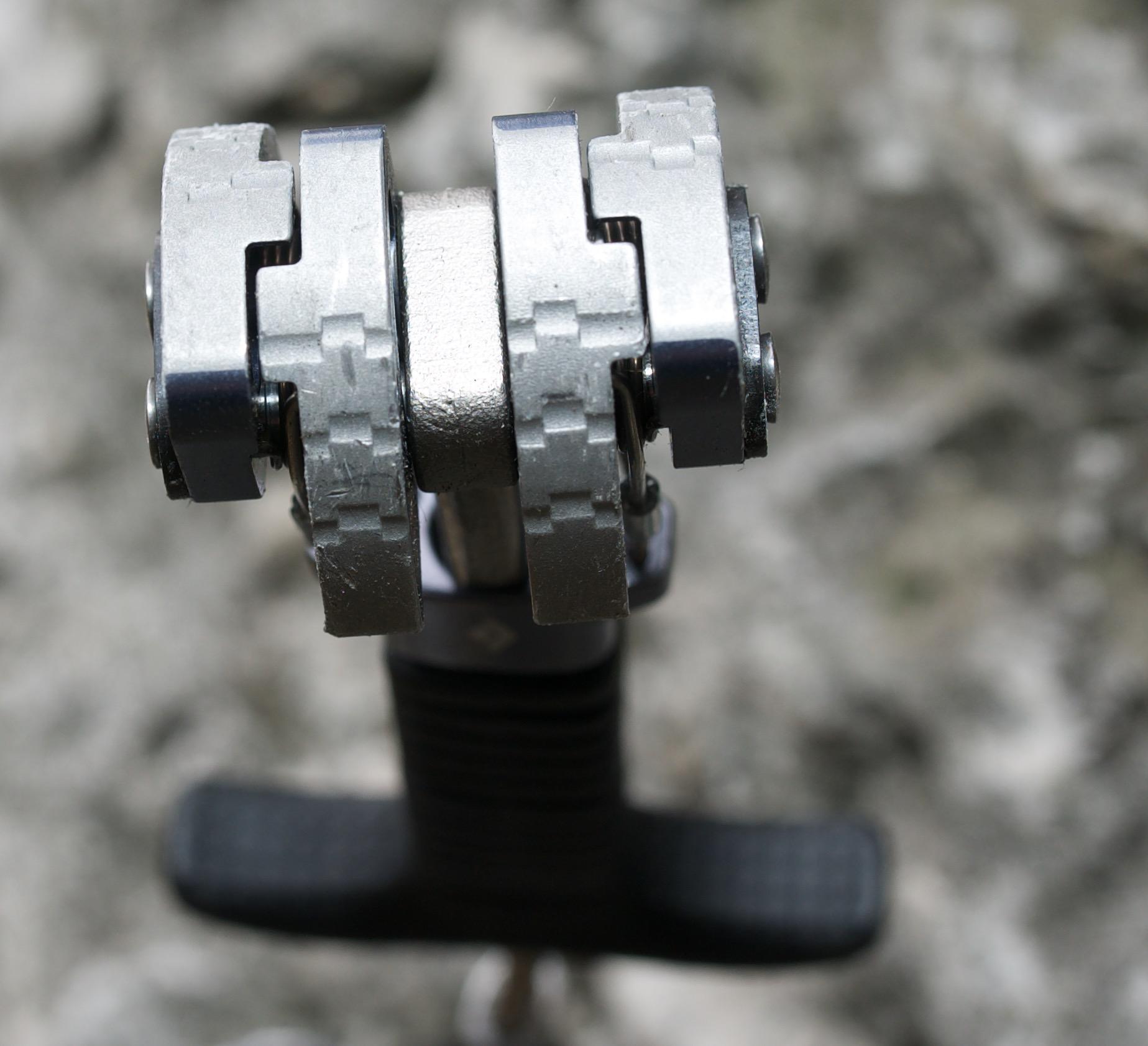 fot 1. kość mechaniczna Black Diamond Camalot Z4 (fot. Dariusz Porada)