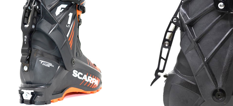 System SkiWalk w butach Scarpa F1 LT Carbon (fot. scapra.net)