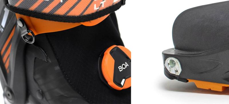 Kompatybilność butów Scarpa F1 LT Carbon z wiązaniami pinowymi