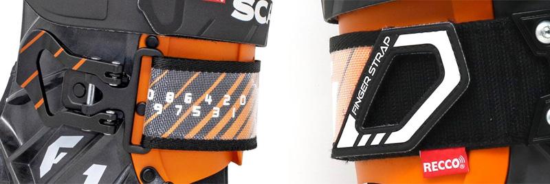 Dolny wyposażony w klamrę rzep buta Scarpa F1 LT (fot. scarpa.net)