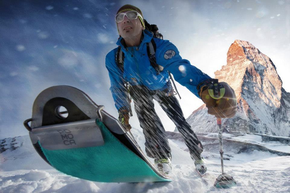 Foki skitourowe Pomoca w akcji (fot. pomoca.com)