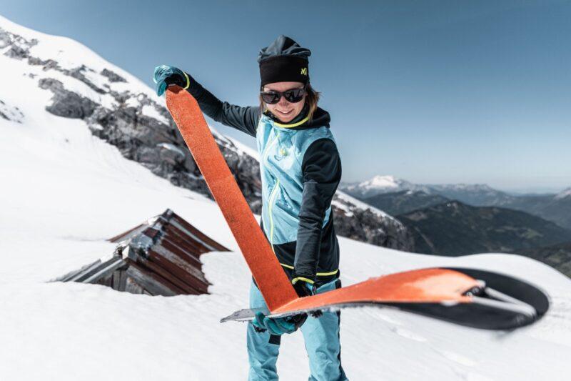 Damski sprzęt skitourowy dopasowany jest do wymagań kobiet (fot. millet.fr)