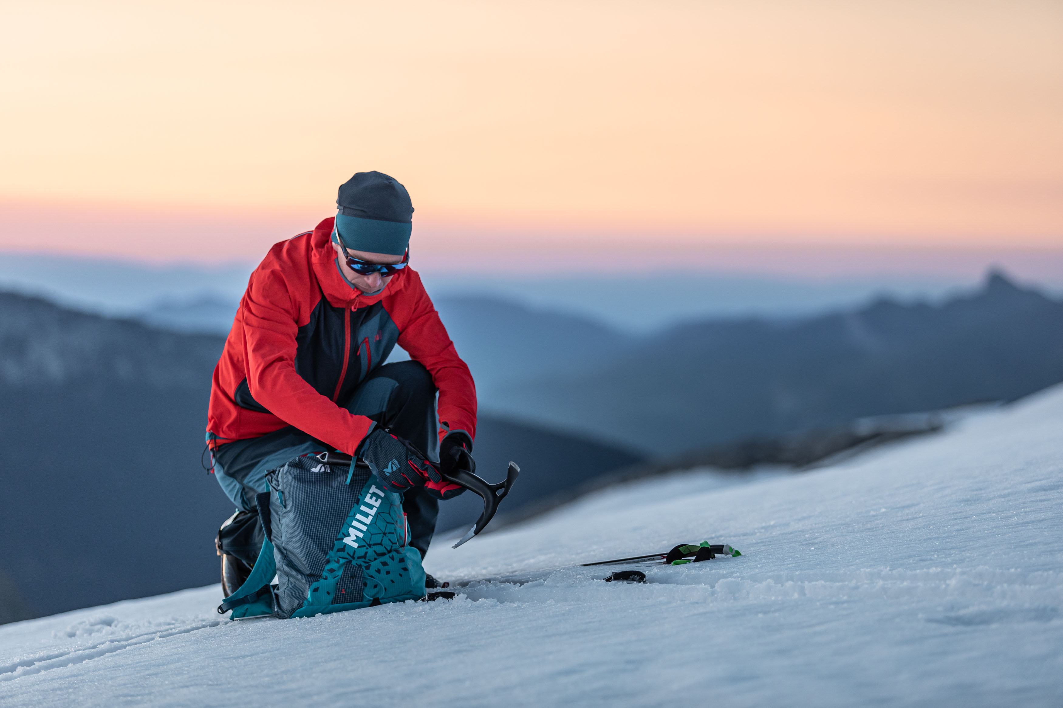 Zestaw skitourowy (fot. millet.fr)