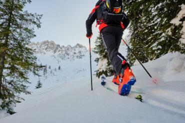Sprzet skitourowy - wyposażenie