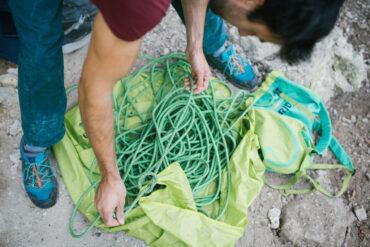 Rodzaje lin wspinaczkowych (fot.edelrid.com)