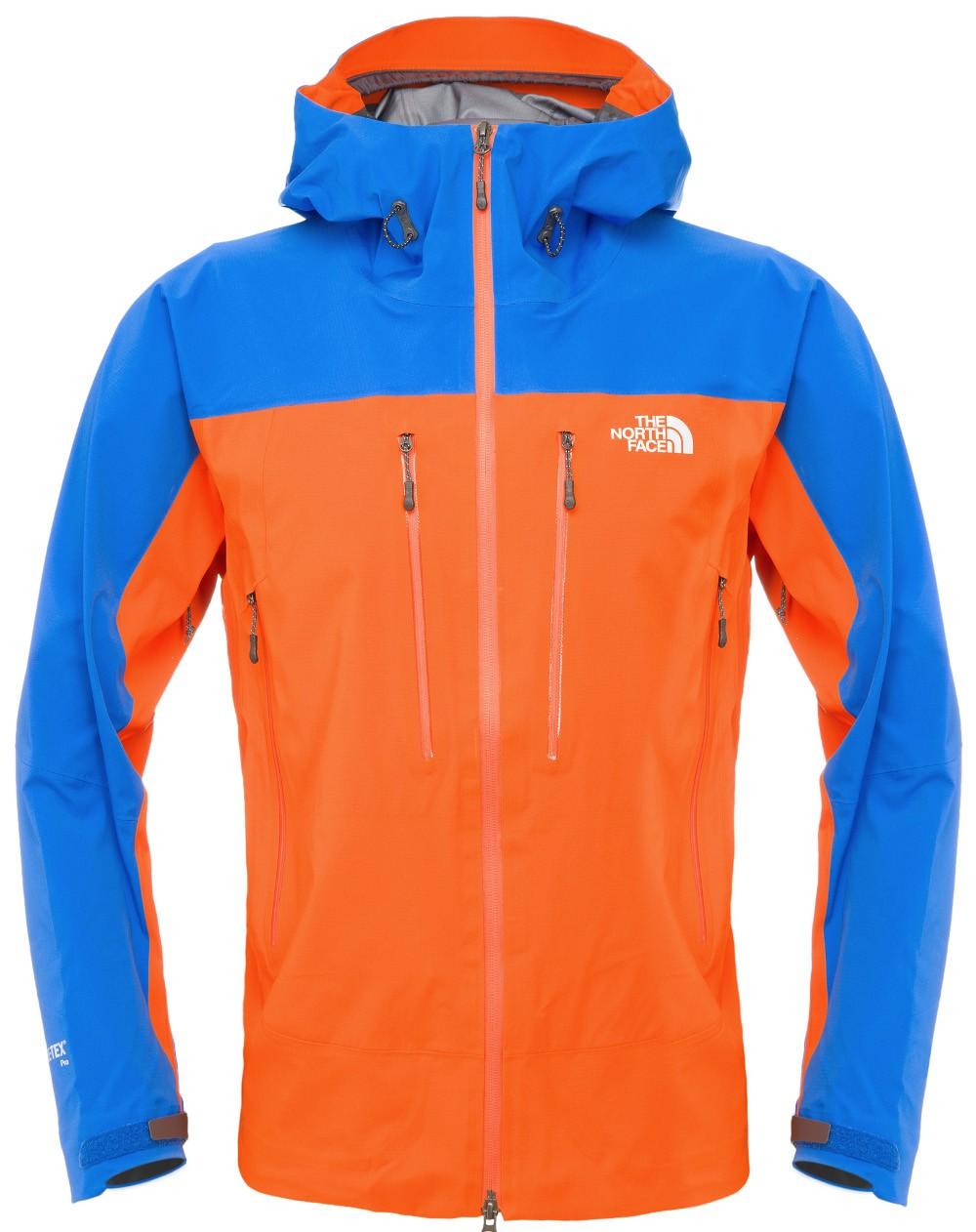 3145132e533599 ... reduced the north face half dome jacket mandarin orange nautic blue.  promocja. gore tex