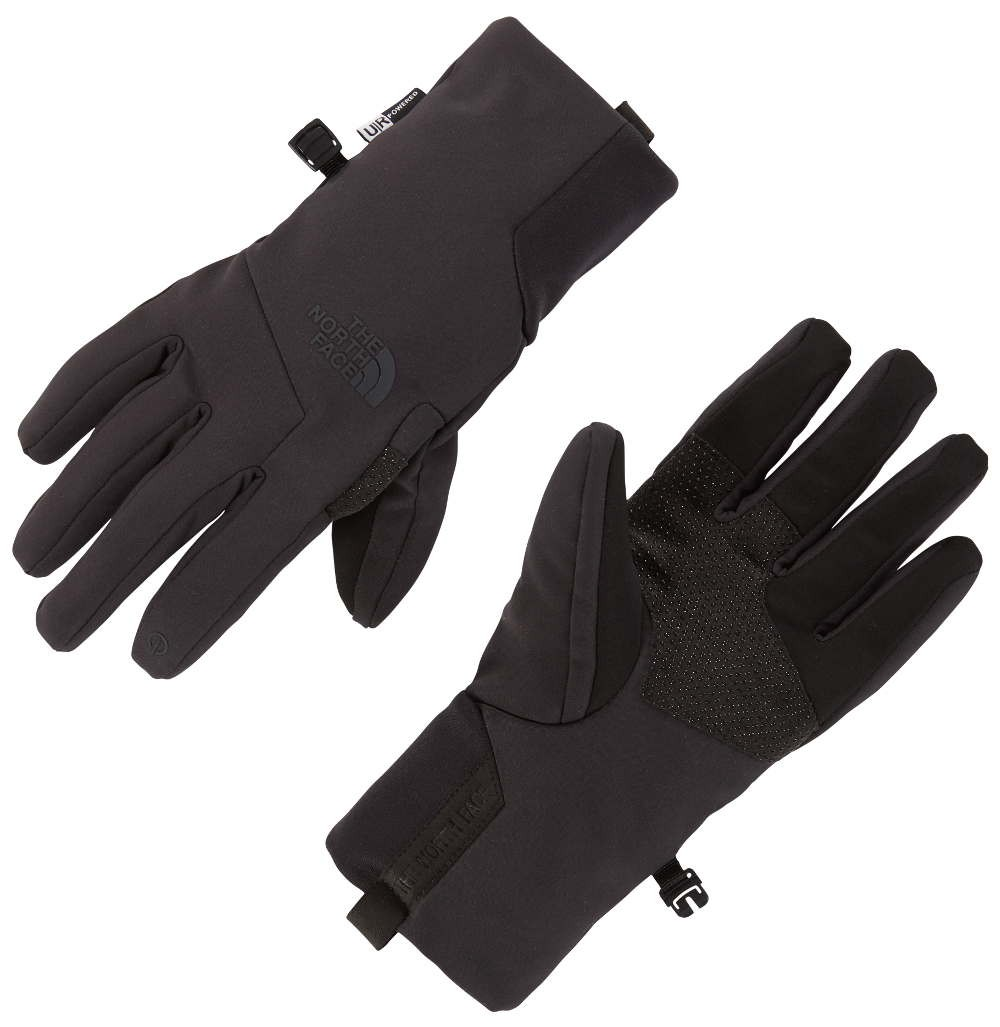 najlepszy dostawca całkowicie stylowy najlepsze podejście RĘKAWICE SOFTSHELL THE NORTH FACE WOMAN APEX ETIP GLOVE - TNF BLACK