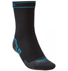 Black//Purple Bridgedale Womens Woolfusion Trekker Sock